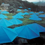 【Signed Poster】Christo & Jeanne-Claude:The Umbrellas, Japan-USA, 1984-1991, JAPAN site